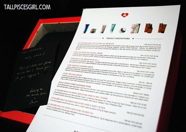 MIVVA Beauty Box Debut December 2012 Review (X'mas Edition) 1