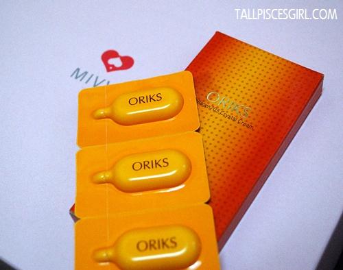 MIVVA Beauty Box: Oriks Collagen 703 Crystal Cream