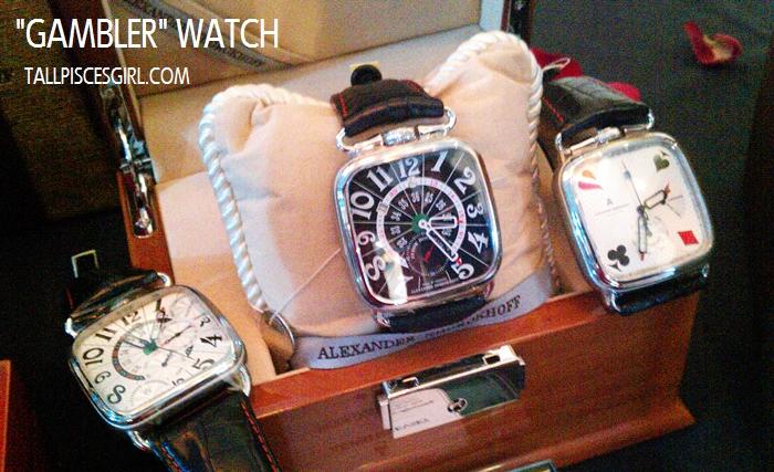 Alexander Shorokhoff: Gambler watch collection