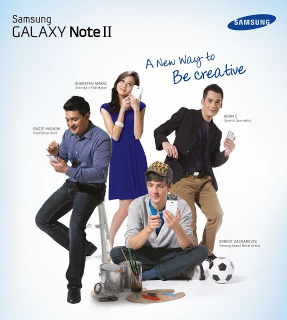 Samsung note1 - Samsung Galaxy Note II: Be Creative and Win!