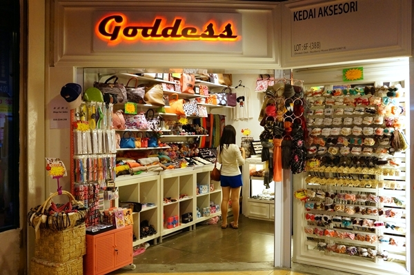 One of the shops at HK Station, selling cute accessories