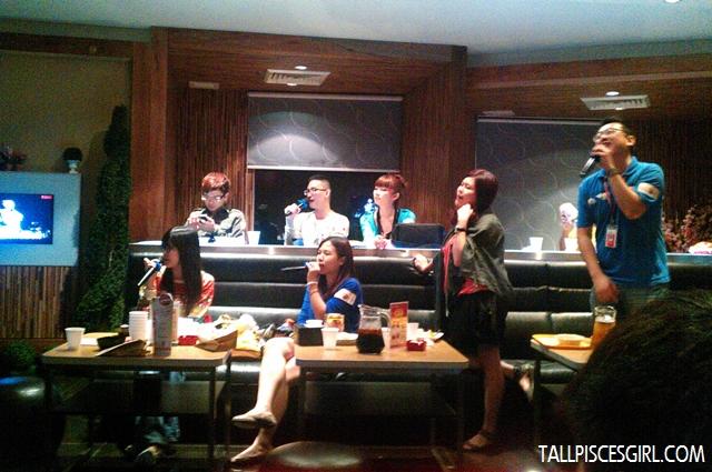 Sin Chew team and Yuki Wong