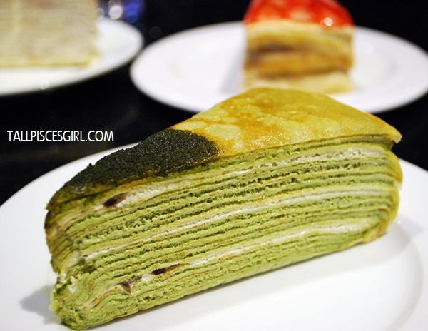 Green Tea Mille Crepe Price: RM 9