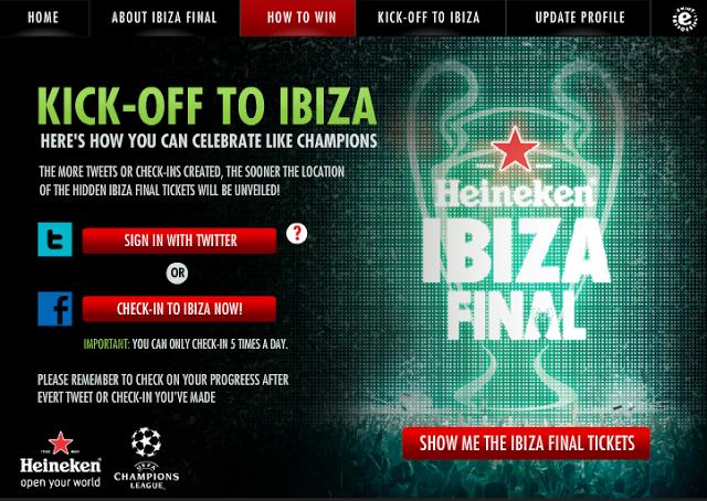 Get Your Heineken Ibiza Final Tickets