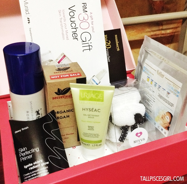 MIVVA Beauty Box March 2013 (Know Your Skin Edition) 1