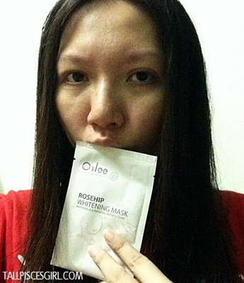 IMG 0031 - Review: O'slee Rosehip Whitening Mask