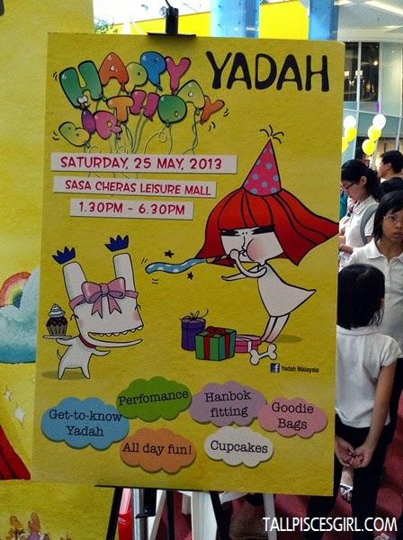 Yadah Birthday Bash 2013 @ Sasa Cheras Leisure Mall 1