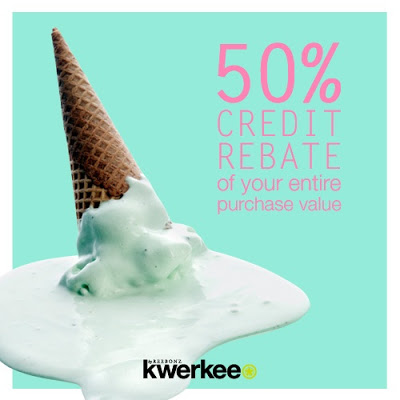 Wootz! 50% credit rebate!