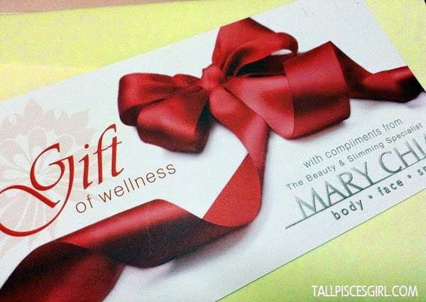 Mary Chia's Treatment Voucher