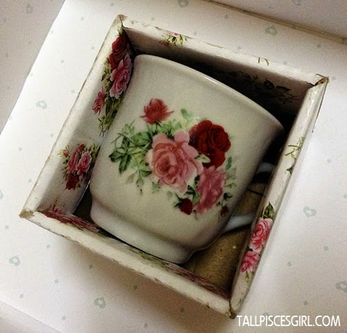 English Flower Cup