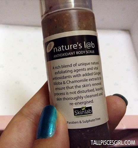 Nature's Lab Antioxidant Body Scrub