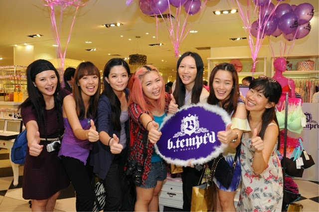 Blogger group supporting b.tempt'd!