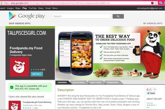 FoodPanda Android App