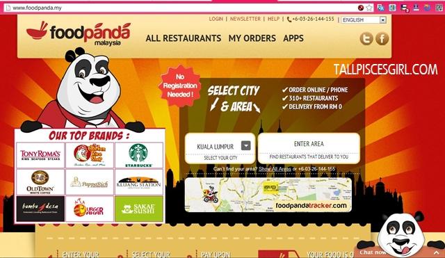 FoodPanda site