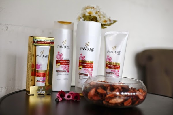 Pantene Color & Perm Lasting Care Range