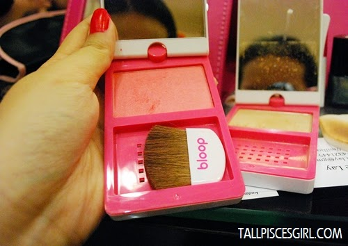 bloop Candy Blusher (03) - RM 48 bloop Two Way Cake (02) - RM 58