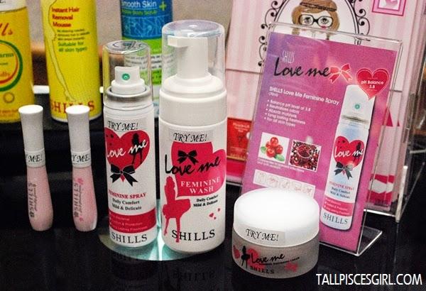 SHILLS Love Me Sexy Pink, Feminine Spray, Feminine Wash, Feminine Whitening Cream