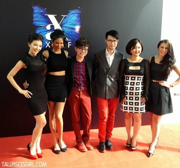 Chris Tong, Thanuja, Xavier, Alfred, Dato' Ruby Khong and Vanessa Chong