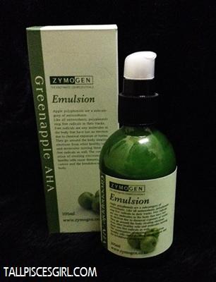 Zymogen Greenapple AHA Emulsion