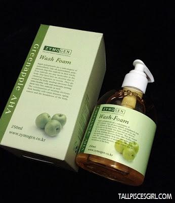 Zymogen Greenapple AHA Wash-Foam