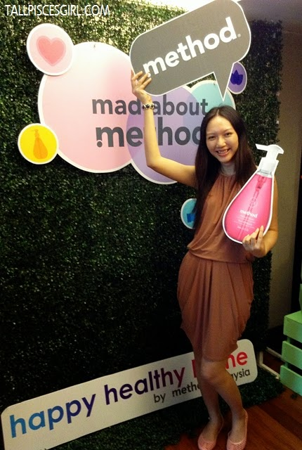 I can't get enough of method I had to pose with method hand wash prop...
