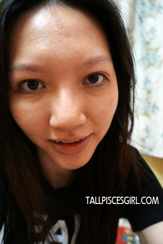 Tired look... My lips are so pale!