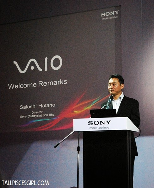 Satoshi Hatano, Director of Sony Malaysia