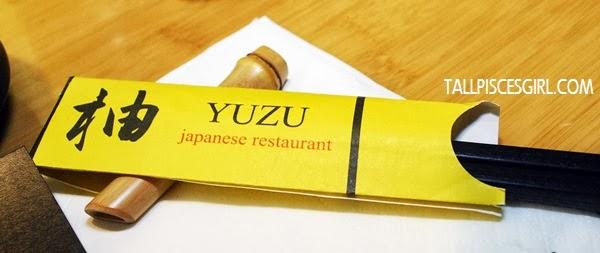 Had my lunch at Yuzu courtesy of Za Malaysia