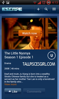 Click on 'Watch now' to start enjoying the drama!
