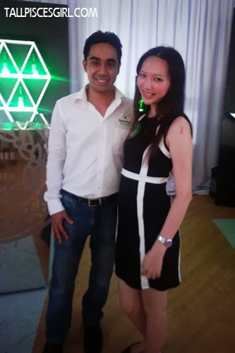 With Mr. Keith Nair, GAB Professional Solutions Manager  and portfolio brand ambassador for Guinness Anchor Berhad