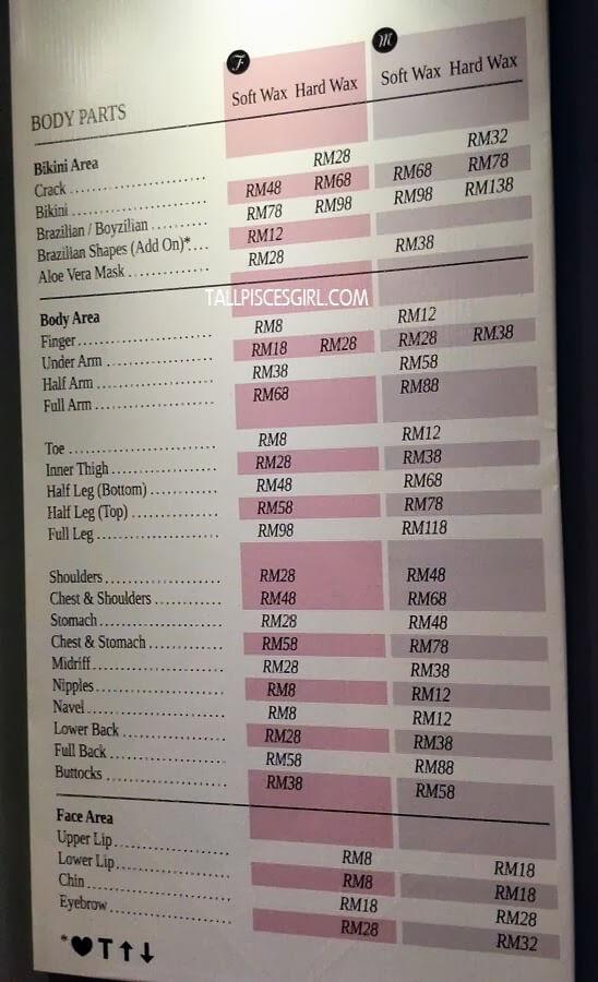 Bubble Gum Wax Price List
