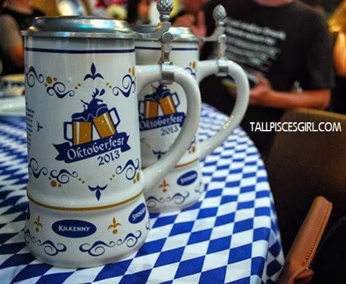 Special edition 1 litre Ceramic Oktoberfest Mug