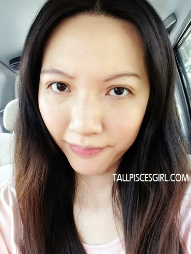 Before applying lipstick look