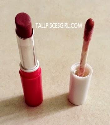 Matte lipstick + Lipgloss