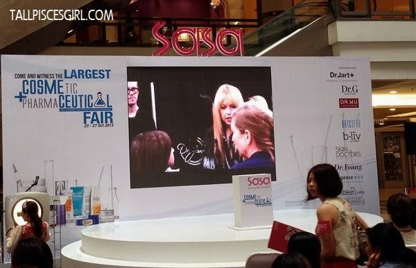 SaSa Cosmeceutical Fair 2013