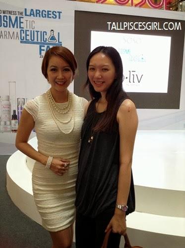 Mrs. Malaysia International 2012, Rachel Sua and I
