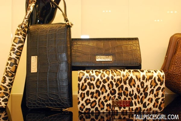 PATTY File Clutch in Leopard and Black