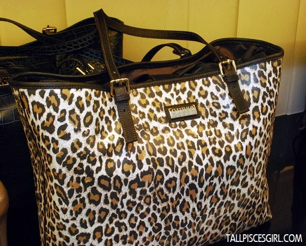 PATTY Shopper Bag in Leopard