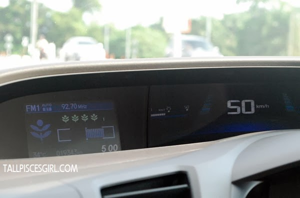Eco Score on my friend's Honda Civic Hybrid