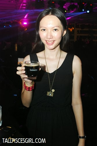Yours truly, enjoying a few cups of Guinness =)