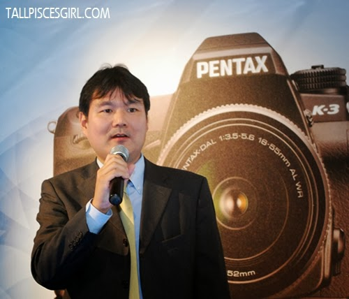Ricoh Imaging Co. Japan Malaysia Product Manager, Takashi Arai