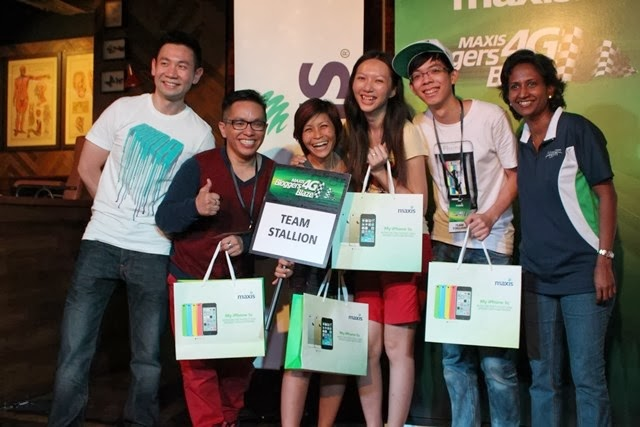 Team Stallion with Ben of Fly FM and Ms. Yoges from Maxis