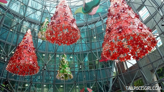 Christmas decorations in Singapore: Wheelock Place, Orchard Road