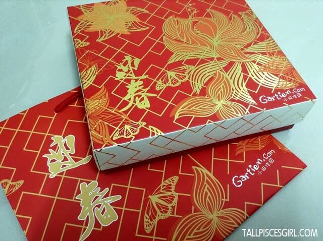 Gartien Bright Red Box for CNY