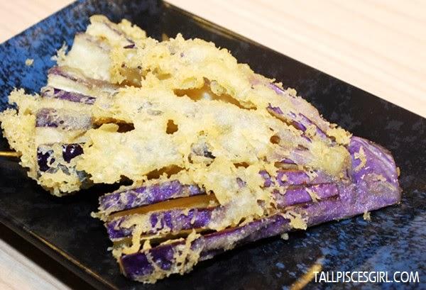 Nasu Tempura - Deep fried eggplant