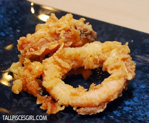 Ika Ring Karaage - Authentic deep fried squid ring