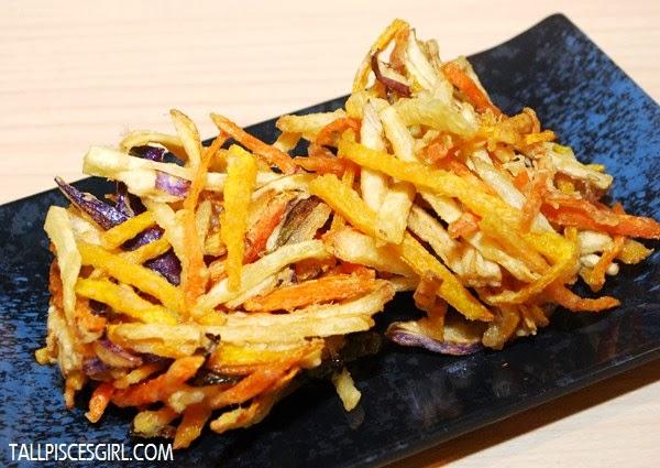 Yasai Kakiage Tempura - Deep fried crispy mix vegetables