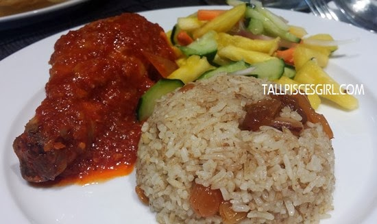 Nasi Ayam Masak Merah