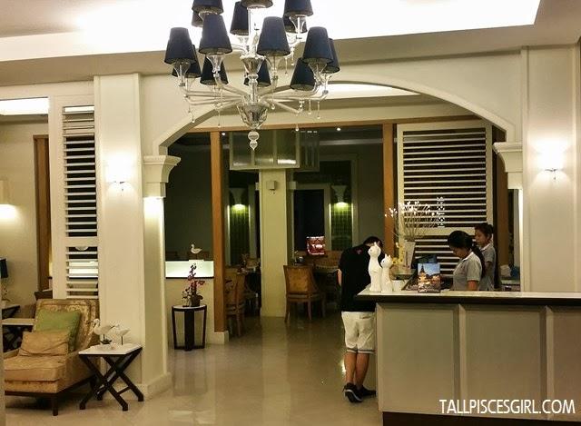 Hotel de Bangkok - Reception area