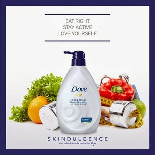 Dove Launches Skindulgence 21 days Challenge 6